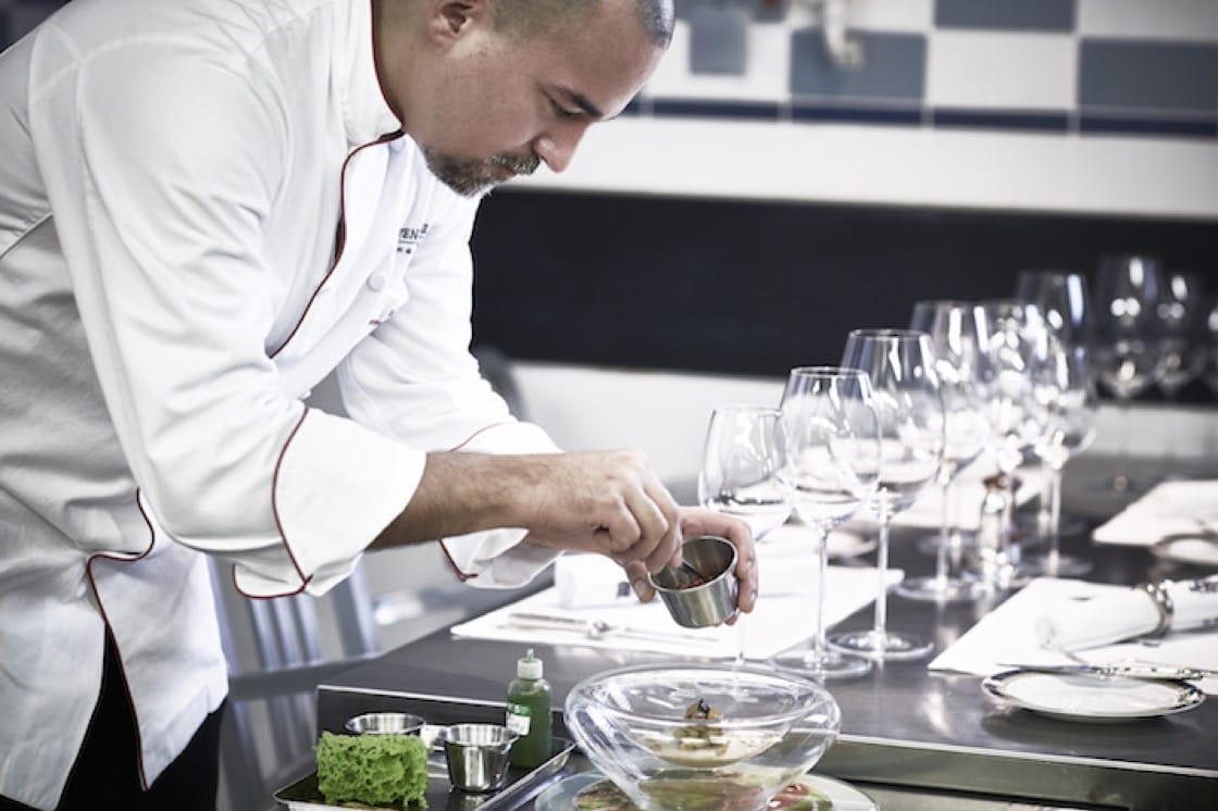 Chef Xavier Boyer of Gaddi's (Photo credit: The Peninsula Hong Kong)