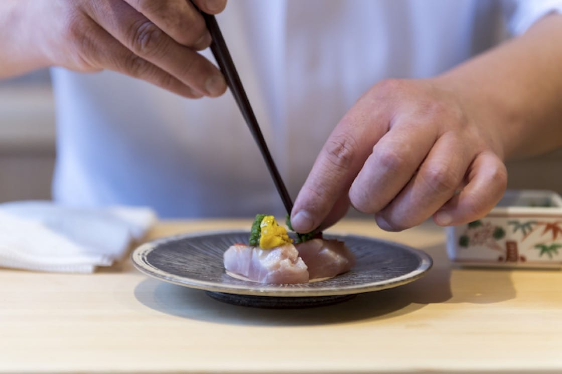 The chefs of Sushi Shin will be preparing their signature dishes at the pop-up event at NAMI Restaurant & Bar (Pic: Sushi Shin)