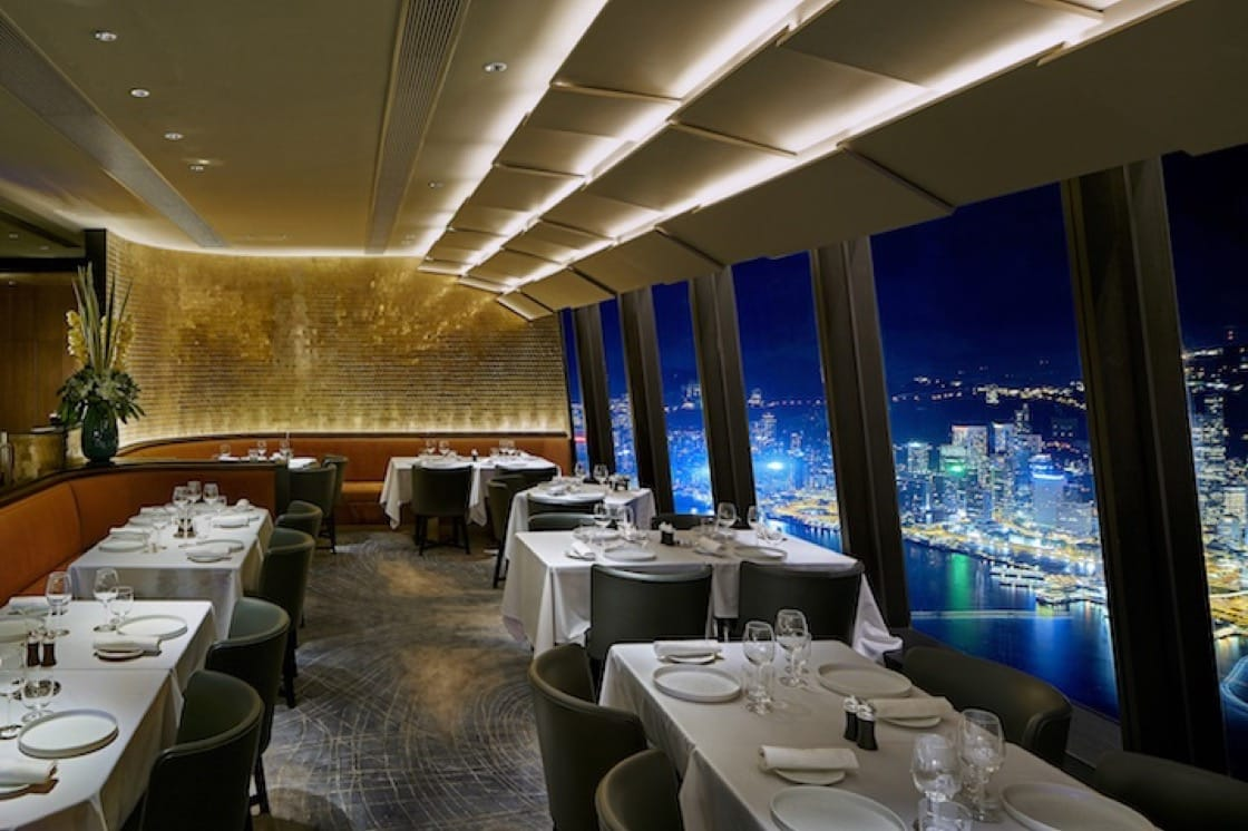 The main dining room of Le39V in Hong Kong's West Kowloon District. (Photo courtesy of Le39V.)