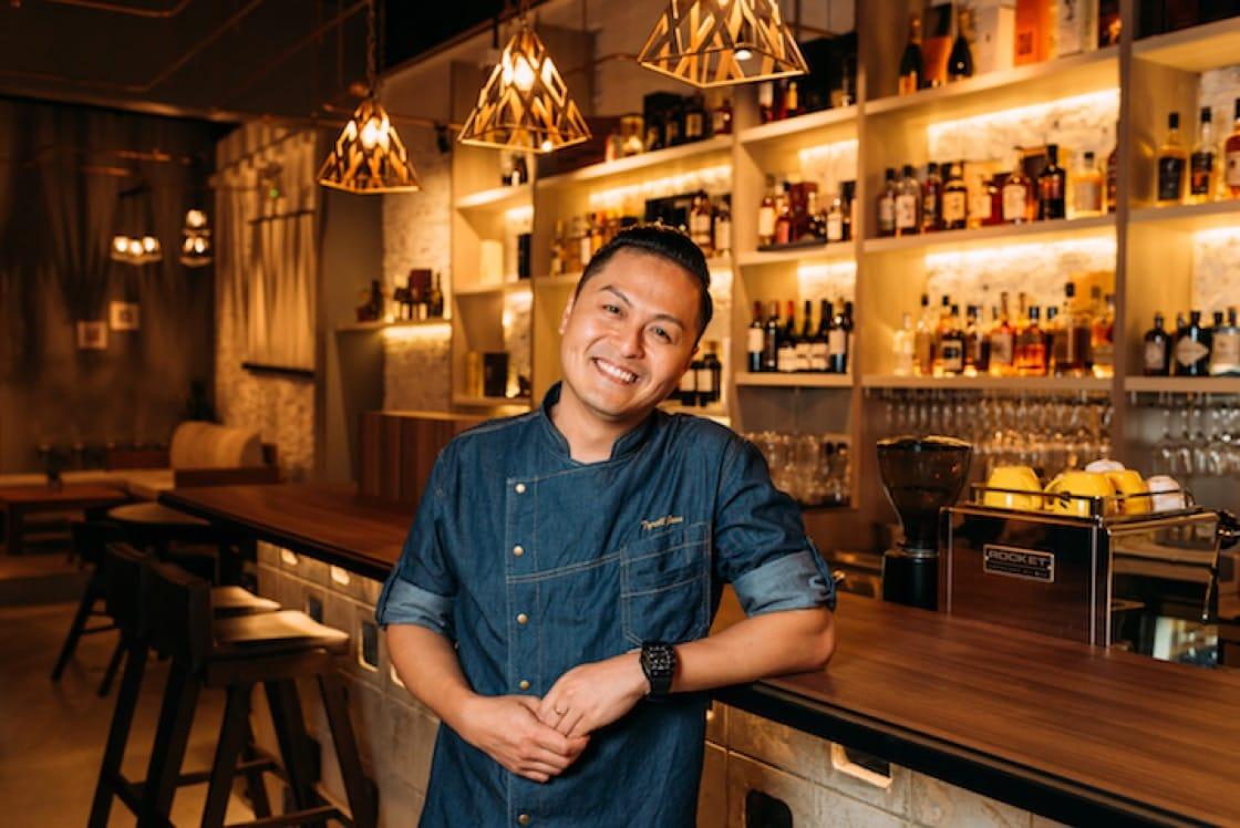 廚師Tyrell Joon在House Of MU餐廳呈現暖心食物。 (圖:House Of MU)