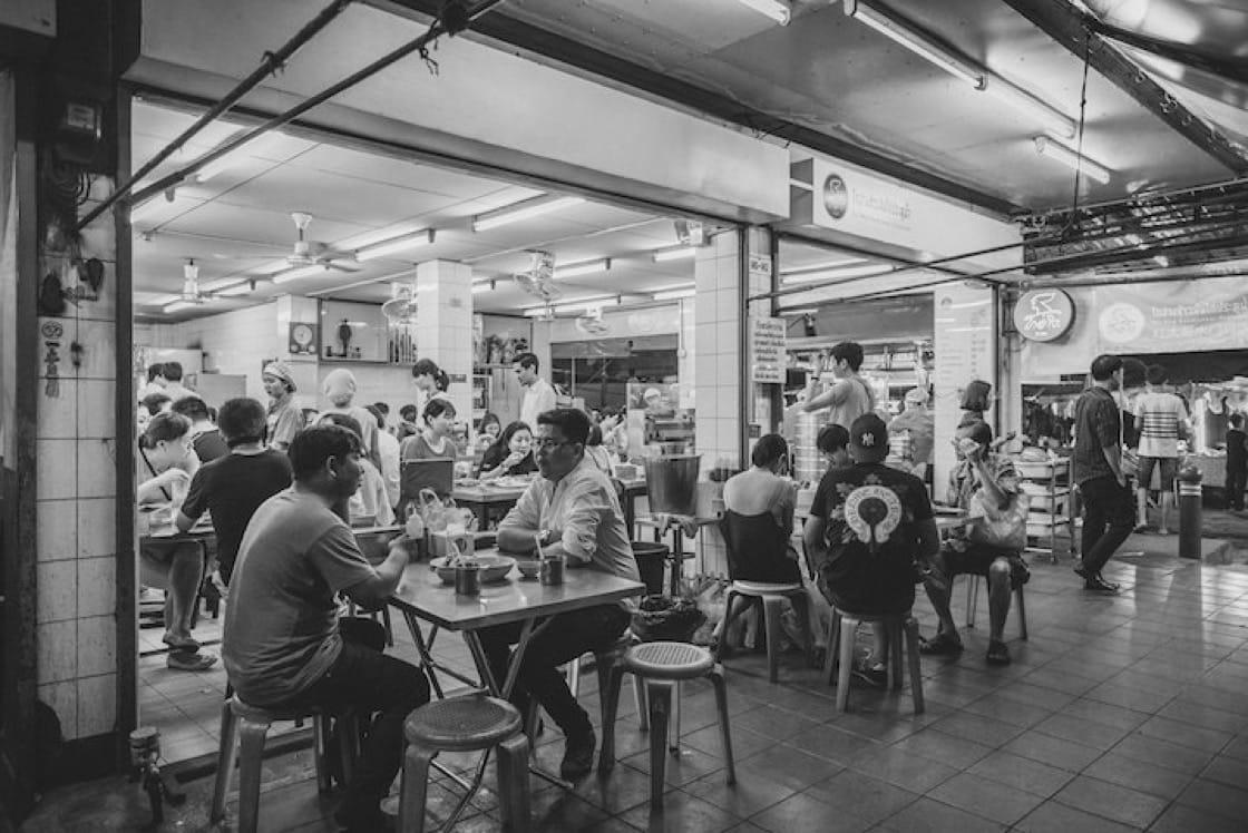 The flagship Go-Ang Kaomunkai Pratunam in Bangkok (Pic: Go-Ang Pratunam Chicken Rice Facebook)