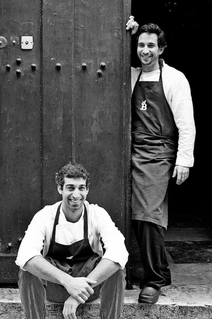 Avillez (right) and Belcanto's chef de cuisine David Jesus (Photo credit: Paulo Barata)