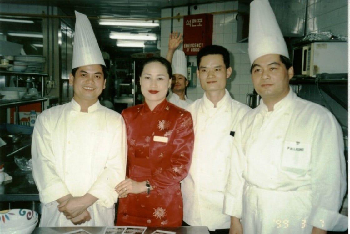 到韓國工作時代的梁輝雄(照片攝於2002年)。