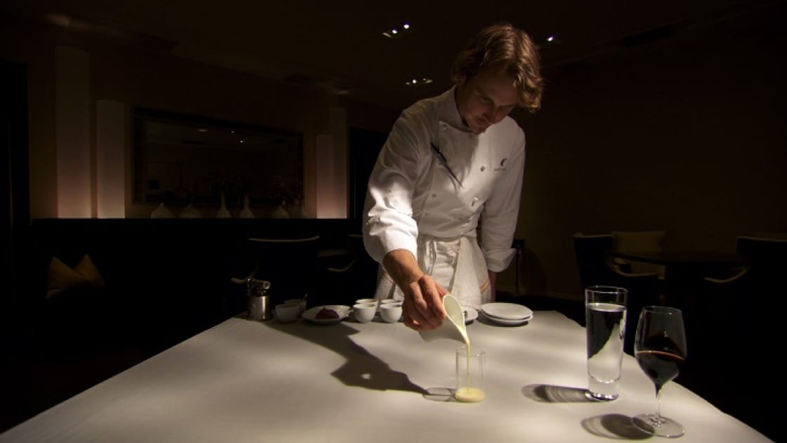 Alinea's Grant Achatz in Spinning Plates (Photo: Swallow Wings Films)