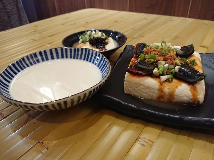 樂埔壹豆府讓台北人在鬧區的鄰里間,也能吃到一塊古法做出的真心豆腐。(謝明玲攝)