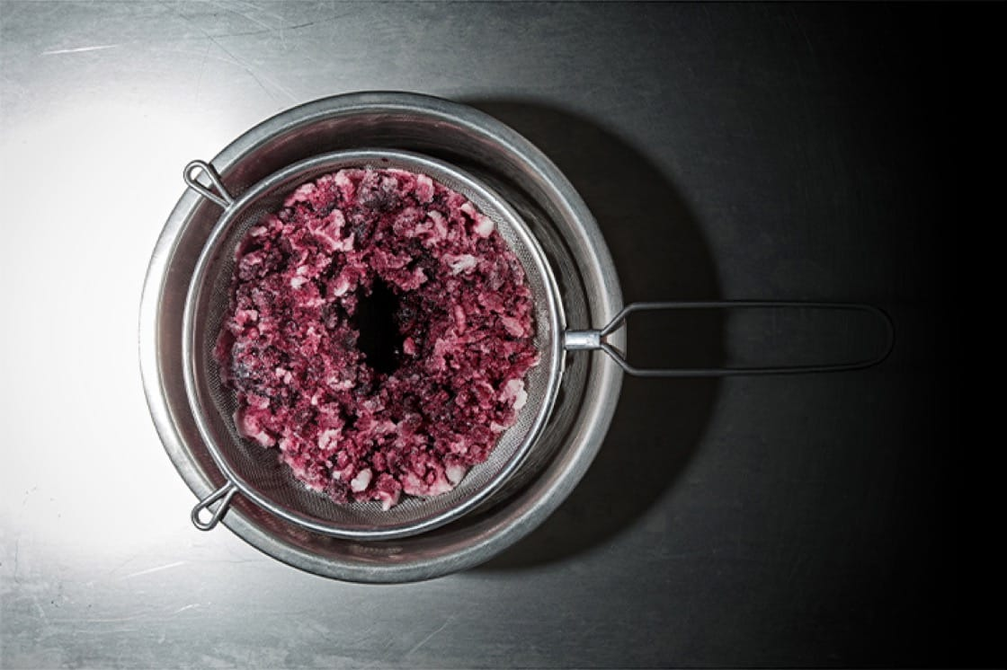 低溫濃縮技術把液體冰凍,並於解凍過程中以冰塊形式去除水份。(照片提供:Cuisine Solutions)