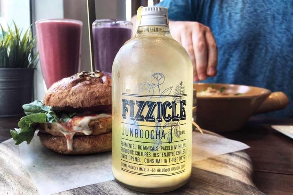 Fizzicle makes a jun variation of kombucha using honey instead of refined sugar (Pic: Fizzicle)