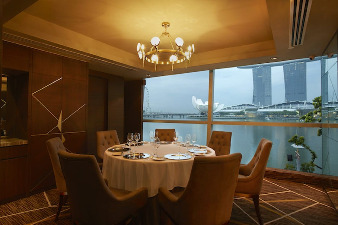Saint Pierre in Singapore affords a panoramic view of the Marina Bay (Pic: Saint Pierre)