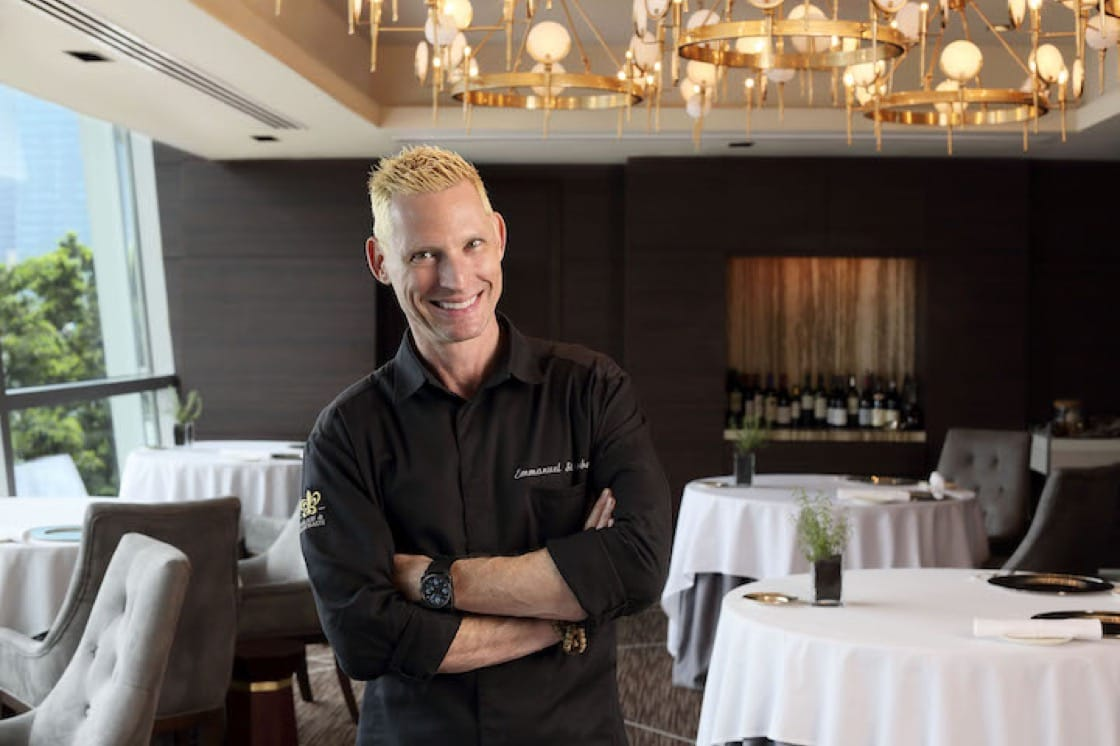 Emmanuel Stroobant at the flagship Saint Pierre in Singapore (Pic: Saint Pierre)