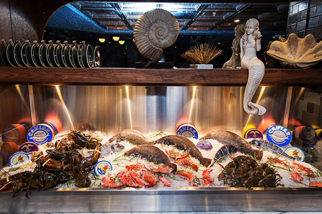 Seafood is the star at Robert Wiedmaier's Siren by RW. (Photo by Scott Suchman.)