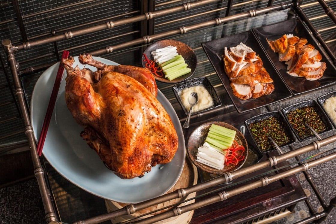 用走地放養火雞,肉質厚實有咬口。(圖片:Mott 32)