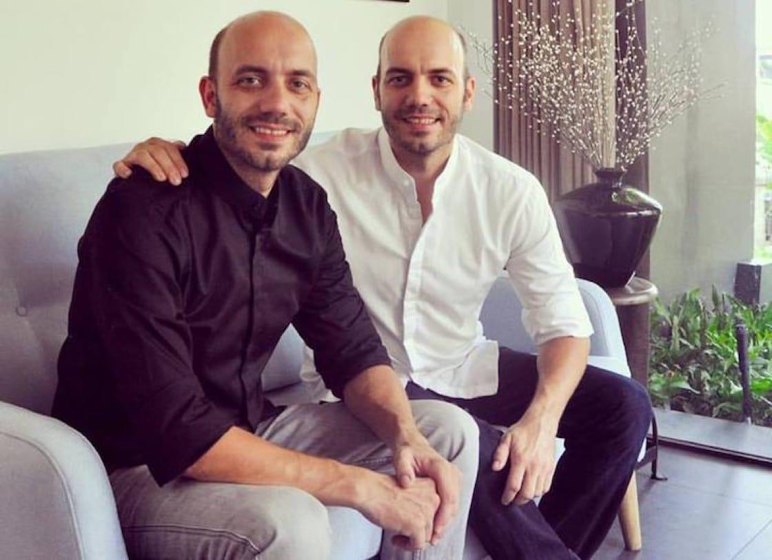雙胞胎兄弟Mathias及Thomas Sühring主持的餐廳今年新獲頒二星。(照片:Sühring臉書)