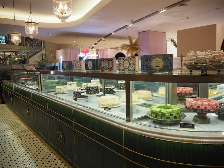 The cake counter will feature about six English-style cakes and an assortment of sweets. (Credit: Kenneth Goh)
