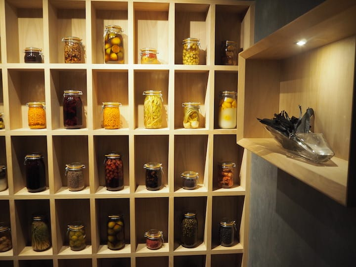 More than 70 types of pickled ingredients from the Nordic region have been brought in. (Credit: Kenneth Goh)