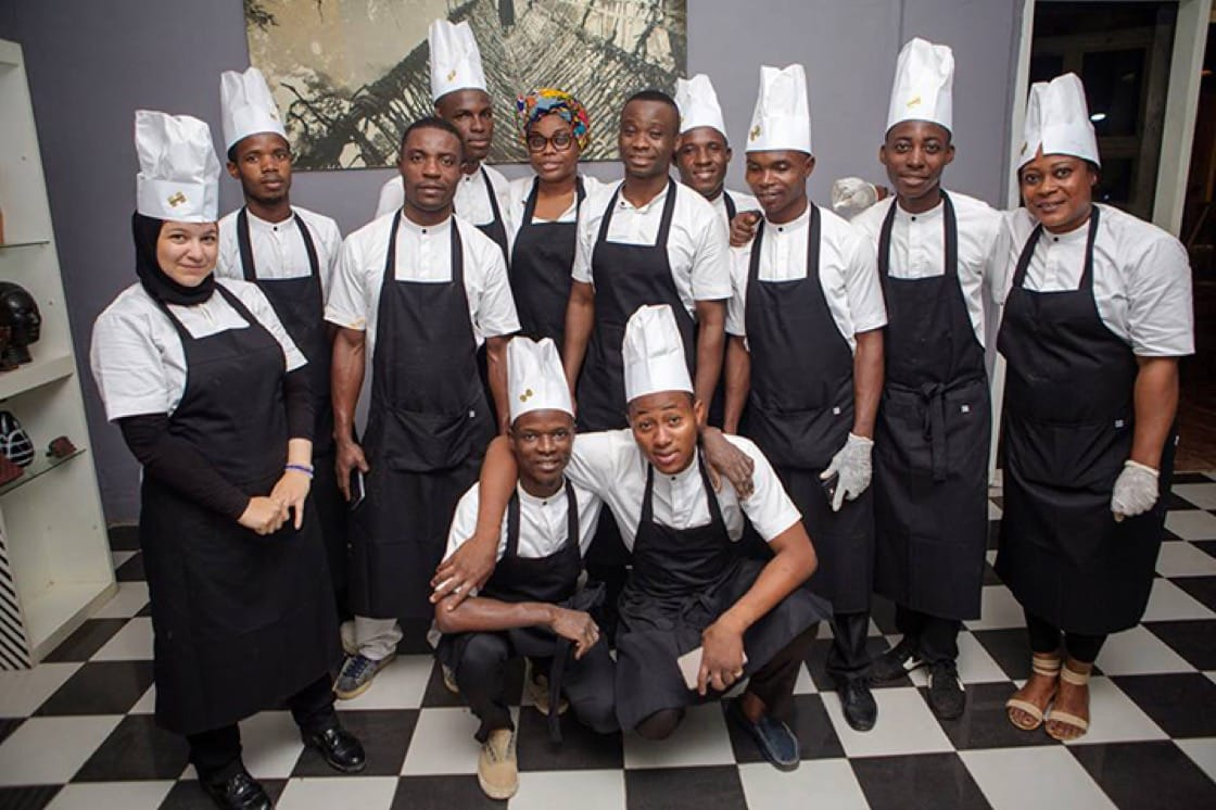 Photo courtesy of Chefs in Africa's Facebook page.