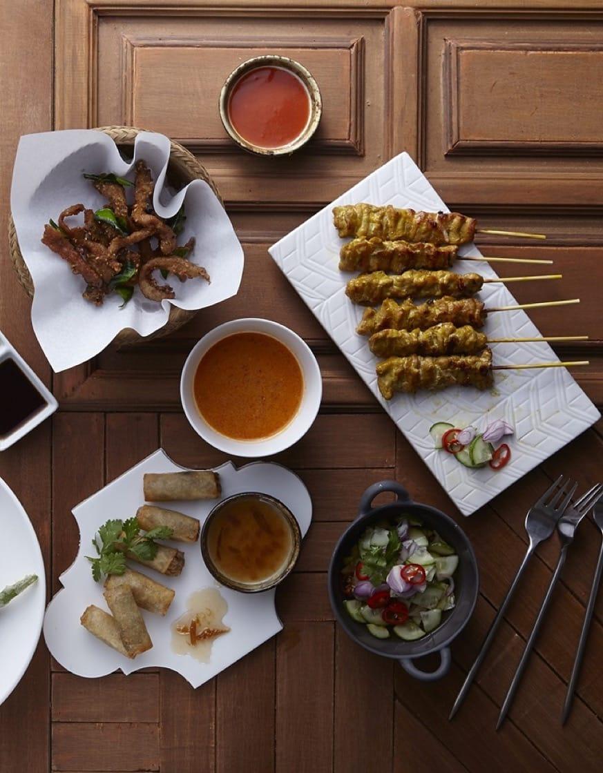 Baan 呈現泰國家常菜色。(圖片:Baan 提供)