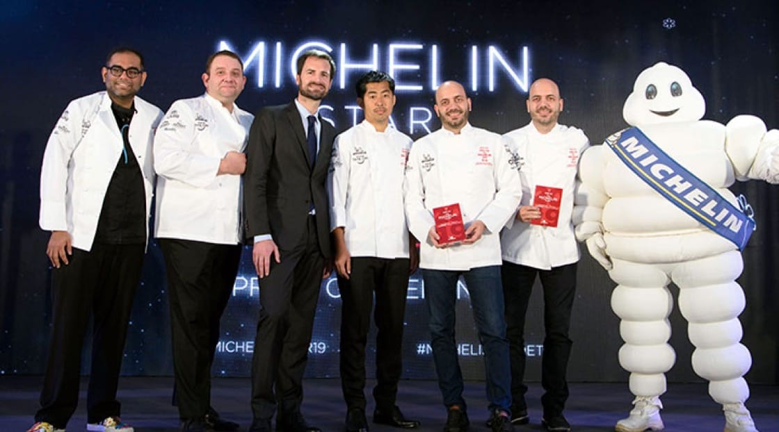 MICHELIN Guide Thailand 2019: 2 Star Winners.