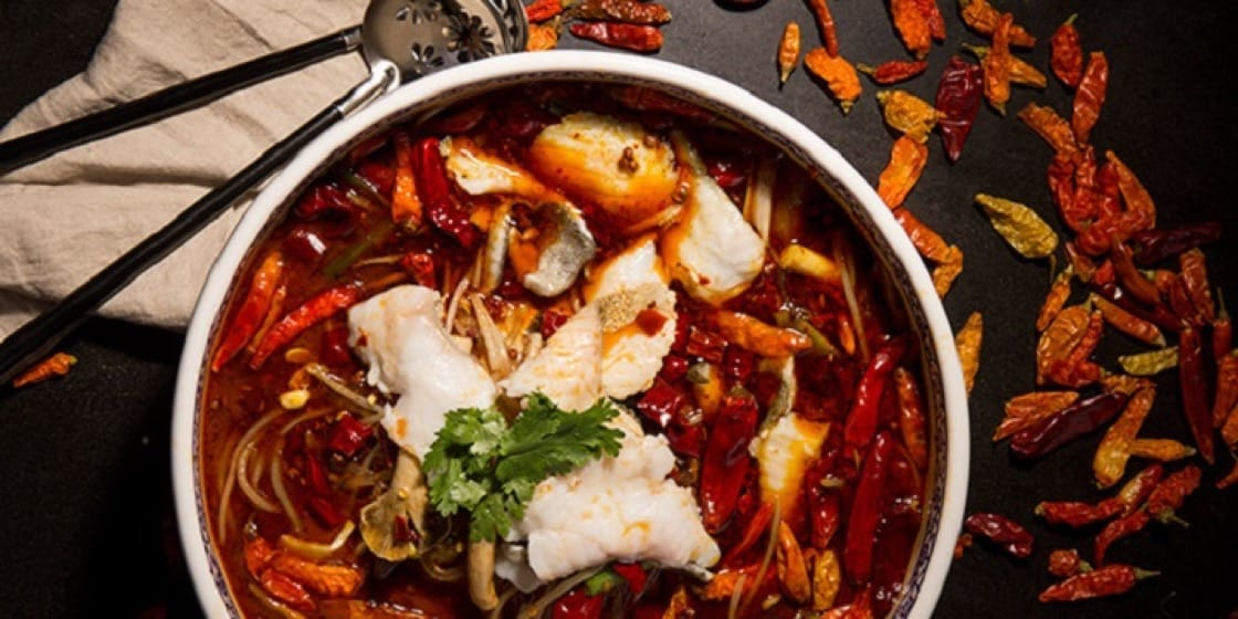 Qi – Nine Dragons reinterprets old-school Sichuan cooking with innovative techniques. The dishes are best tasted with the special cocktails. (Photo: Chope)