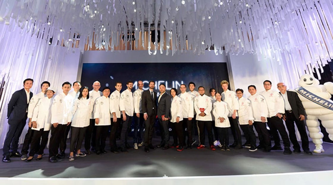MICHELIN Guide Thailand 2019: 1 Star Winners.
