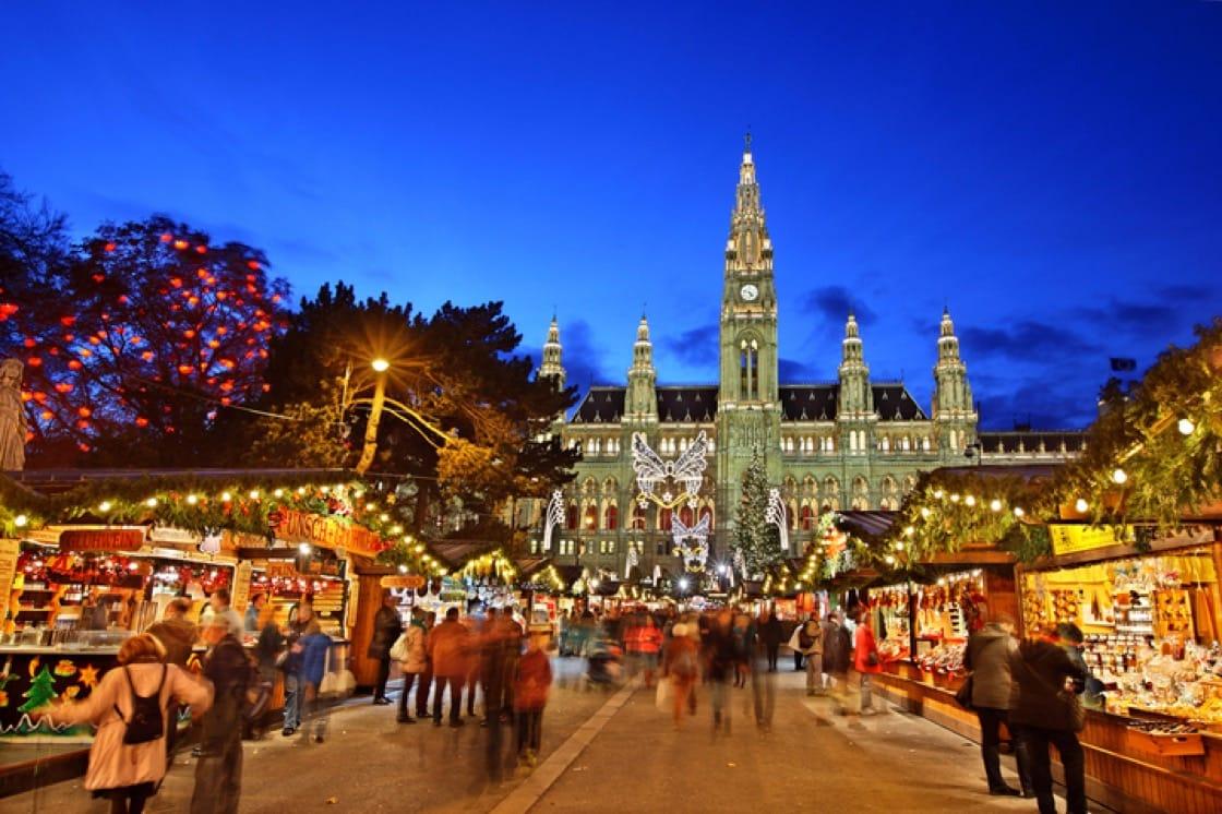 Vienna Christmas World, Austria. (Pic: Shutterstock)