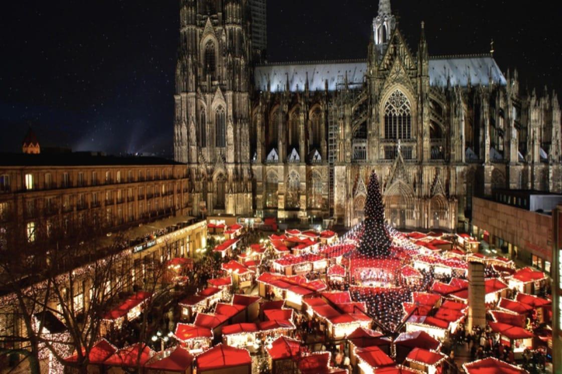 科隆大教堂聖誕市集(照片:Shutterstock)