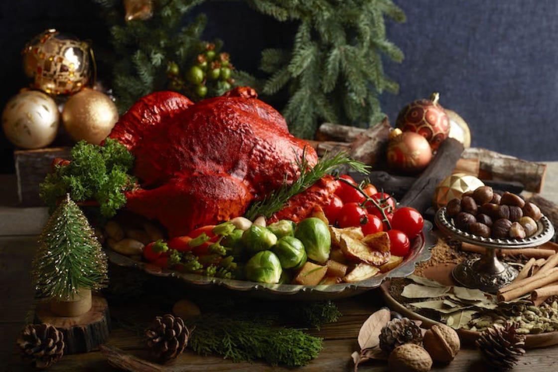 Holiday Tandoori Turkey with Masala Potato.