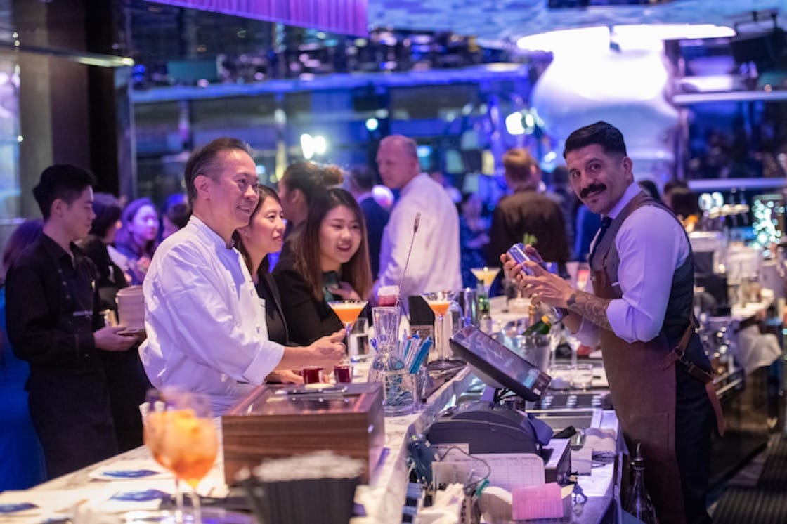 Chefs, mixologists and pâtissiers from the Ritz-Carlton toured gourmet cities in the region.