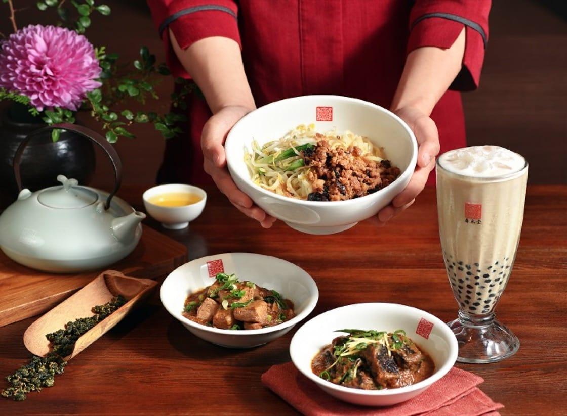 珍珠奶茶老祖宗登陸,除了招牌珍奶外,也有大量小食輕食(圖片:春水堂)