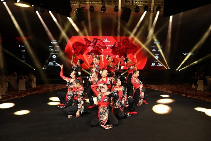 Entertainment came in the form of Japanese fusion dance group Fabulous Sisters.