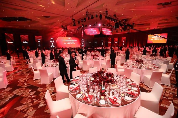 The MICHELIN Guide Hong Kong Macau 2019 Gala Dinner was held at City Of Dreams, Macau.