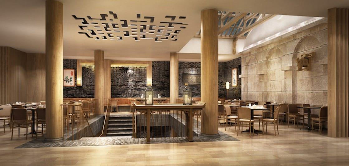 Din Tai Fung's debut London outlet in Covent Garden is designed by Taiwanese designer, Song Yih. (Credit: Din Tai Fung)