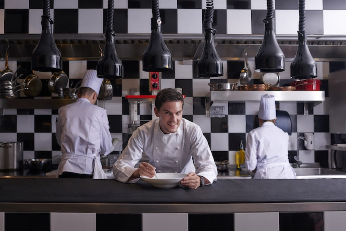 Vianney Massot, who now helms Bacchanalia, is one of Robuchon's youngest proteges. (Credit: Bacchanalia)