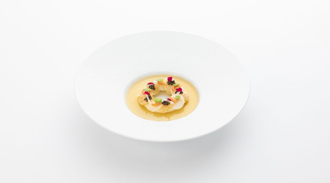 หอยเชลล์คาร์ปาชโช