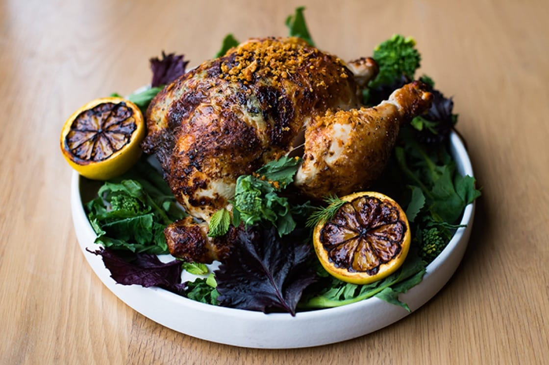 Rotisserie chicken. (Photo by Joy Asico.)