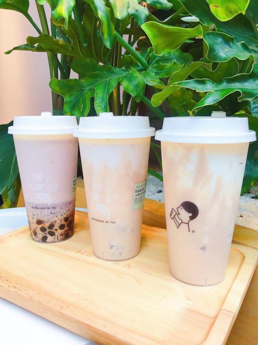 在港擁有許多粉絲的喜茶終於來到香港(圖片:喜茶面書)