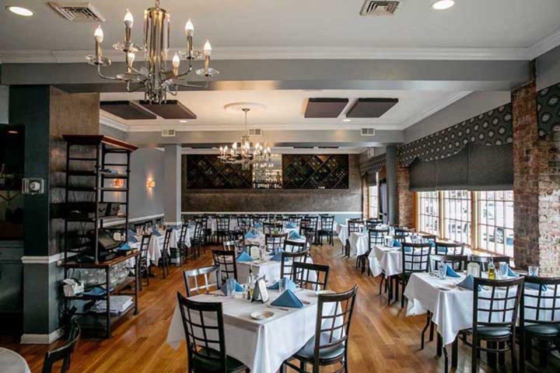 The interior of Bib Gourmand-designated Enzo's. (Photo courtesy of Enzo's.)
