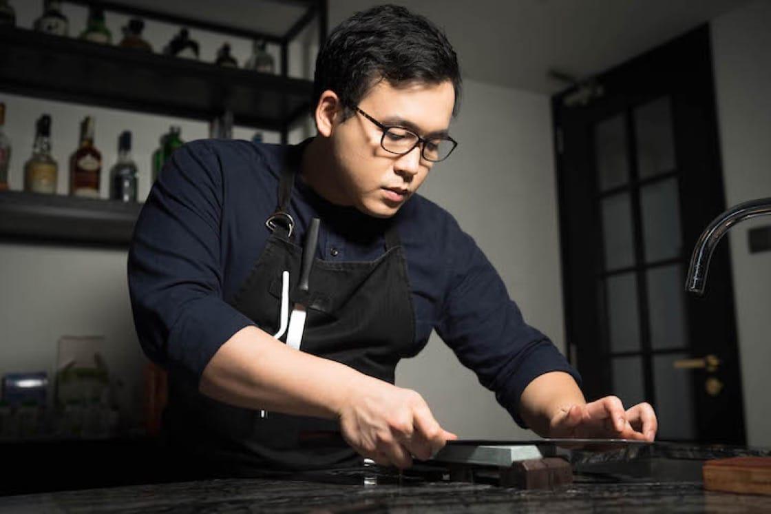 MasterChef Asia winner Woo Wai Leong (Pic: Restaurant Ibid)