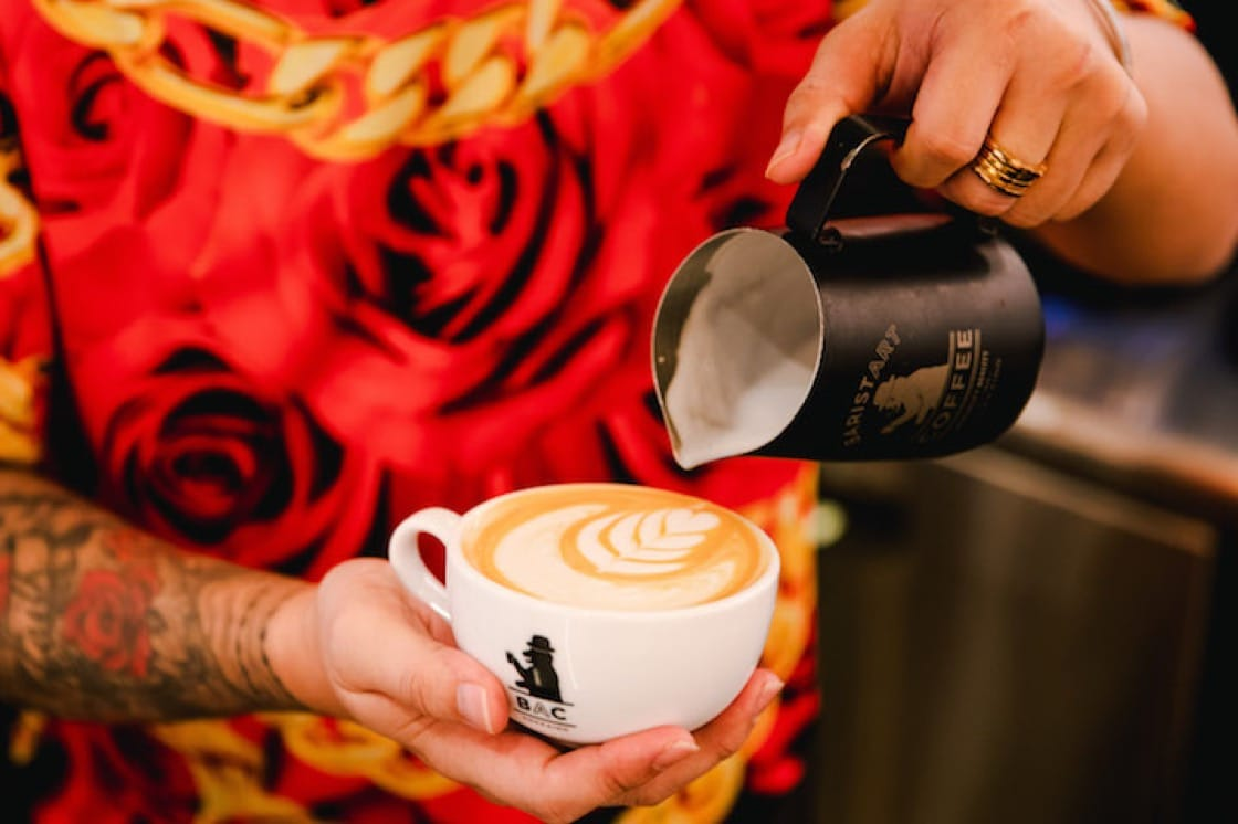Enjoy the smooth rich taste of premium Hokkaido milk in your latte (Pic: Baristart Coffee)