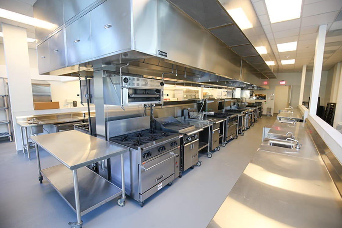 The aptly-named Emeril Lagasse Foundation culinary lab.