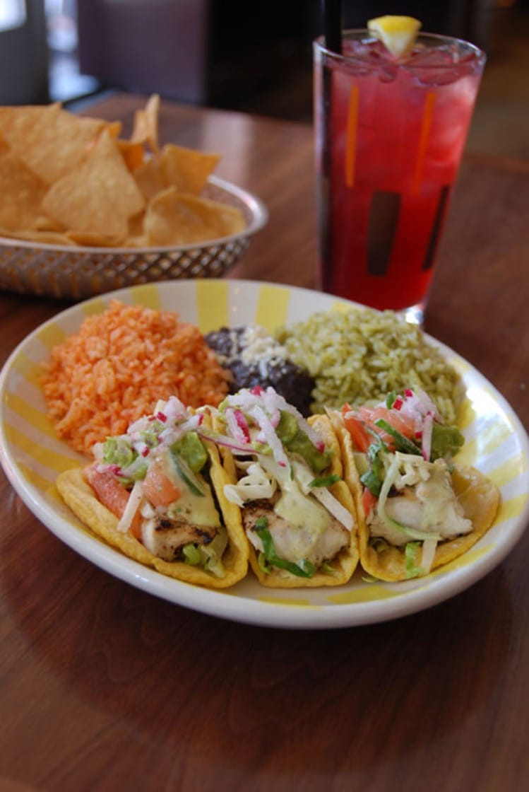 Fish tacos at Border Grill. (Photo courtesy of Border Grill.)