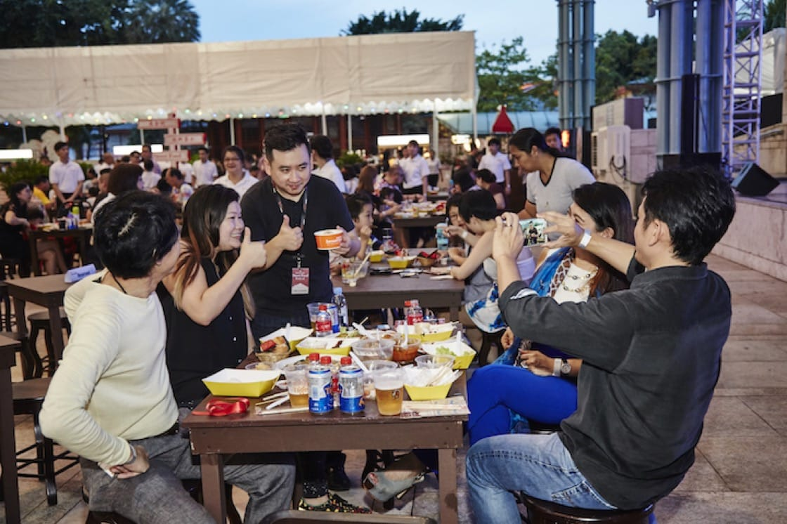Feast on food from 15 MICHELIN Guide Singapore-recommended eateries at the MICHELIN Guide Street Food Festival.
