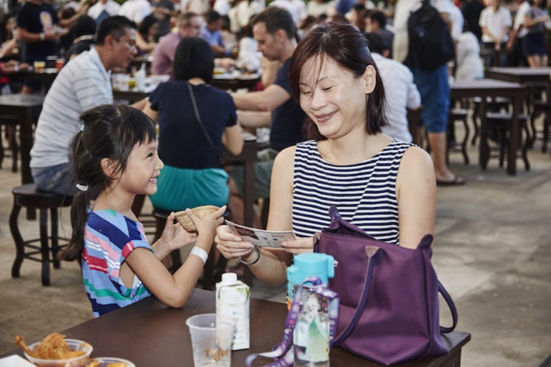 The MICHELIN Guide Street Food Festival is fun for the whole family.