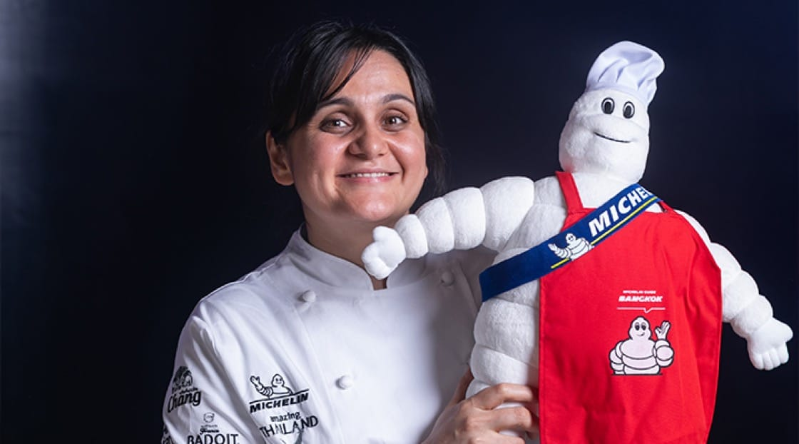 Chef Garima Arora of Gaa (1 Michelin star).
