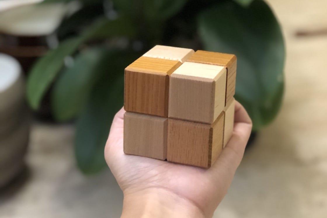 """Nouri's petit fours Japanese puzzle boxes are a popular """"souvenir"""" (Pic: Nouri)"""