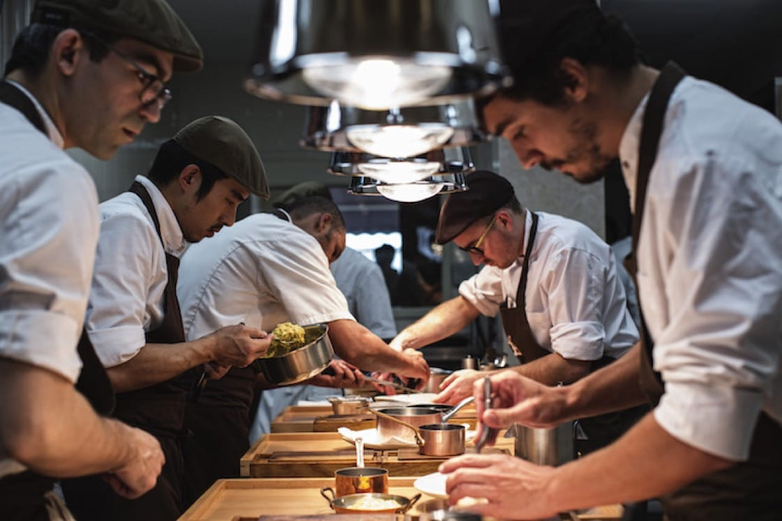 As one of the pioneers of the new wave of Portuguese cuisine, Avillez (right) is keen on giving space and opportunities to young chefs. (Photo credit: Paulo Barata)