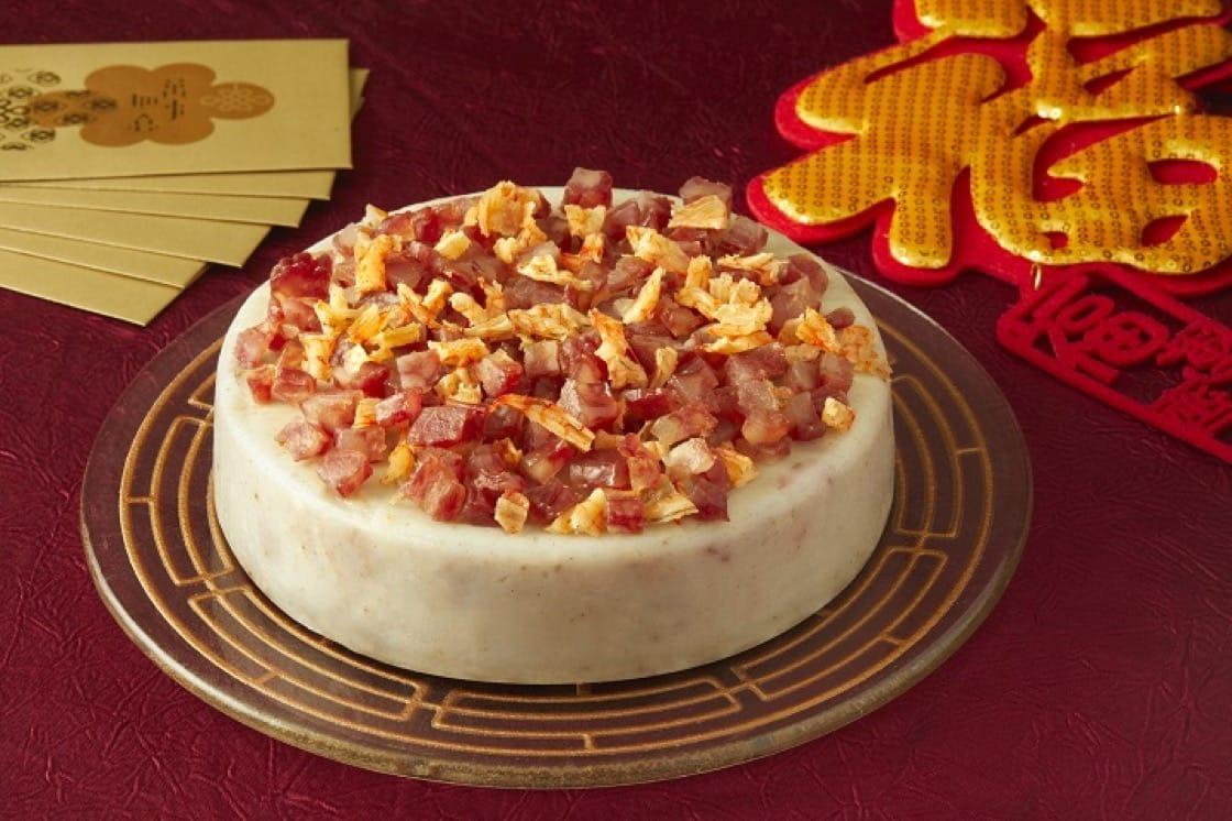 芋頭糕,是中國人賀年必備的糕點。(圖片:龍苑)