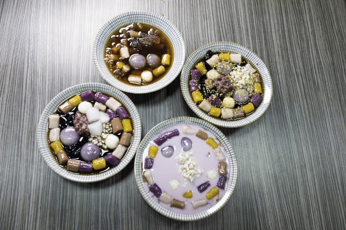 台灣人也愛吃芋頭,有各式各樣的芋頭食品。(圖片:黄雲義)