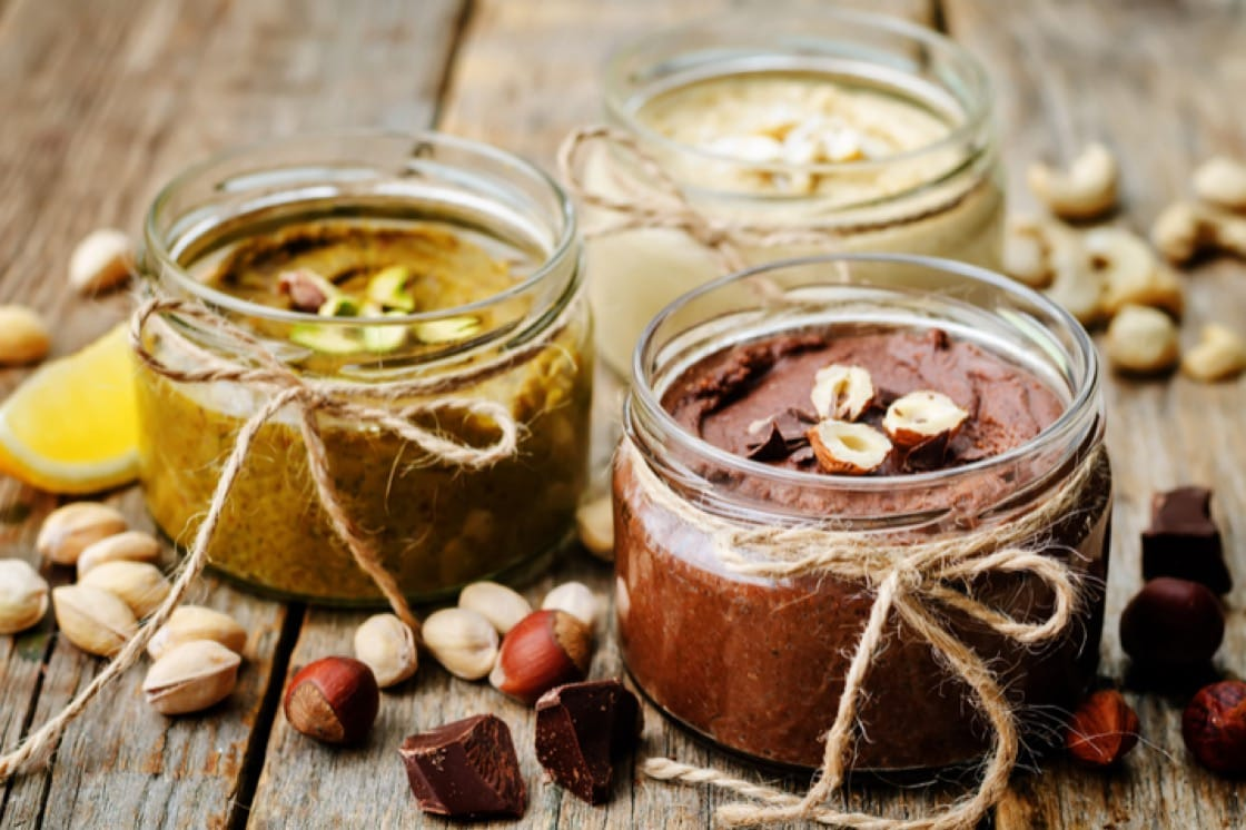 Make way in your pantry for fancy nut butters.
