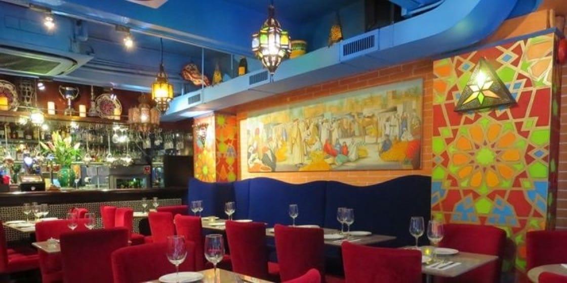 來自阿拉伯世界的 Le Souk,充滿異國風情。(圖片:Chope)