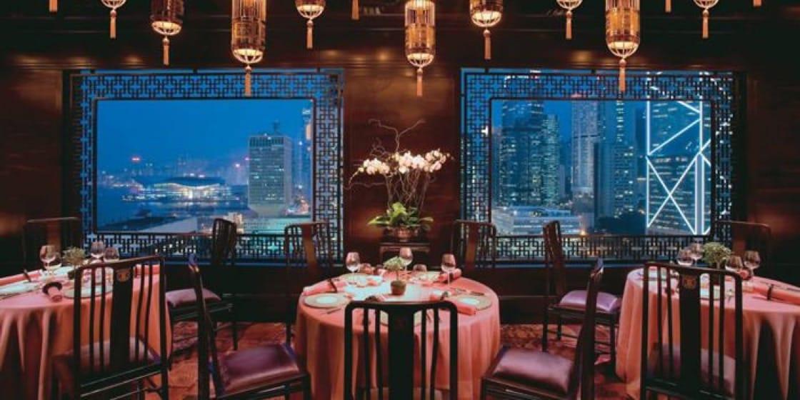 誰說中菜不浪漫?看文華廳的環境多優雅。(圖片:Chope)